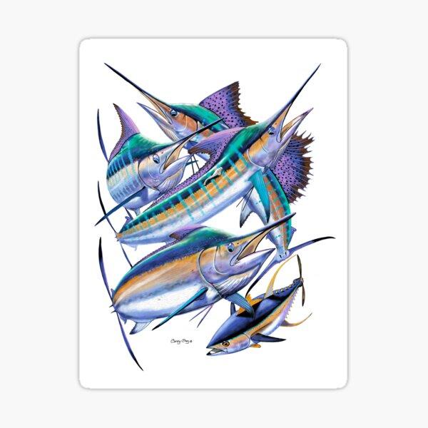 Pacific Billfish  Sticker