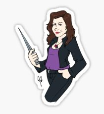 Meg Masters Sticker