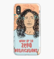 Zero Notifications     iPhone Case/Skin