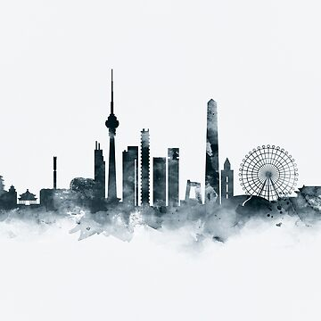 Beijing Skyline by MonnPrint