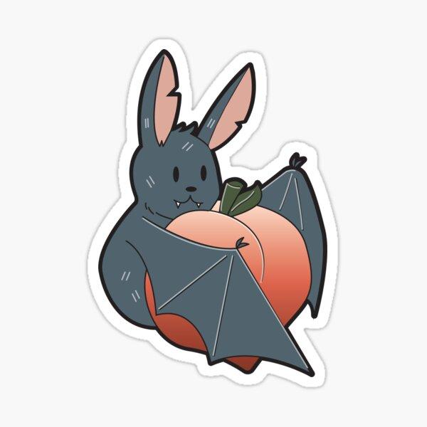 Bat Butt Sticker