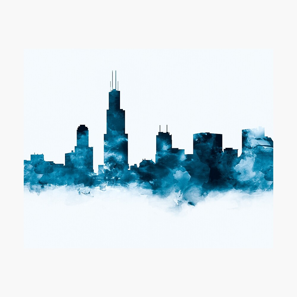 Chicago Skyline Fotodruck