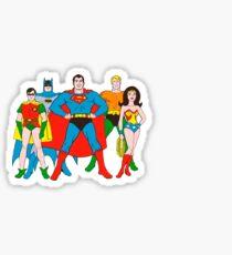 super friends Sticker