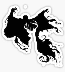 Stag and Dementor Sticker