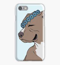 Soft Pedigree: Crowned PitBull iPhone Case/Skin
