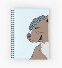 Soft Pedigree: Crowned PitBull Spiral Notebook