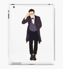 Minimalist Eleventh Doctor  iPad Case/Skin