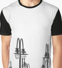Boardwalk Lights | Jersey City, New Jersey Graphic T-Shirt