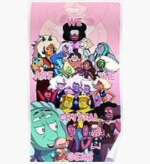 We Are The Crystal Gems Poster
