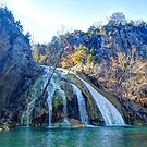 Turner Falls in Oklahoma by Terence Russell