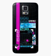 Wavebird Y2K Black Neon Case/Skin for Samsung Galaxy