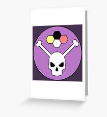 Bonehead Greeting Card