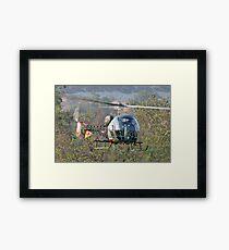 Mash Helicopter Framed Print