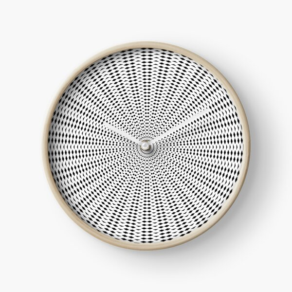 Psychedelic circle Clock