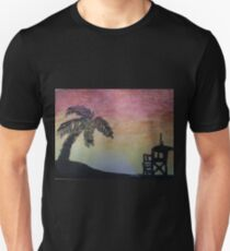 At the Beach (Water Color) T-Shirt