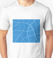 Abstract - blue. T-Shirt