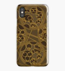 Tick-Tock Poem in Circular Gallifreyan iPhone Case/Skin