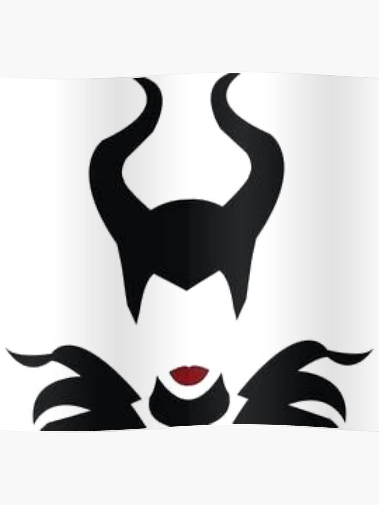 Minimalist Maleficent Poster