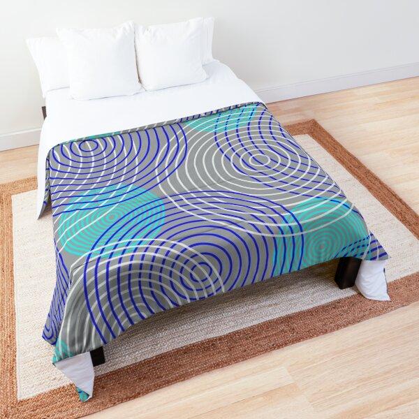 krugovi (gray) Comforter