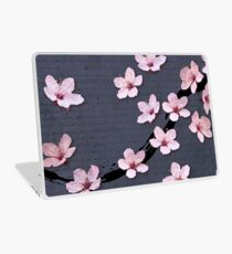 Triangulated Cherry Blossoms Laptop Skin