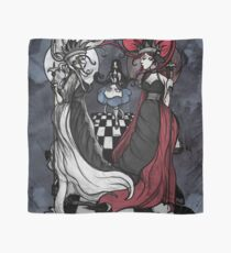 Alice and her Queens: The Checkered Board Scarf