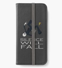 Silence Will Fall iPhone Wallet/Case/Skin
