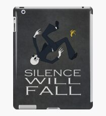 Silence Will Fall iPad Case/Skin