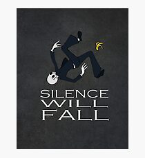 Silence Will Fall Photographic Print