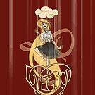 Luna Lovegood: Madness is Golden by Barbora  Urbankova