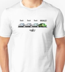 Duck Duck Whale - Porsche 911 Aircooled Inspired Slim Fit T-Shirt