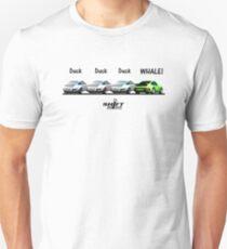 Duck Duck Whale - Porsche 911 Aircooled Inspired Unisex T-Shirt