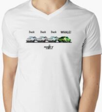 Duck Duck Whale - Porsche 911 Aircooled Inspired Men's V-Neck T-Shirt