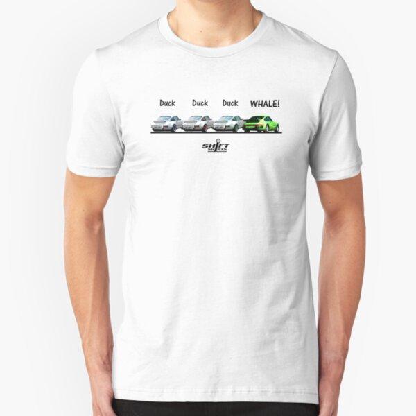 Duck Duck Whale - Porsche 911 Aircooled Inspired Slim Fit T-Shirt