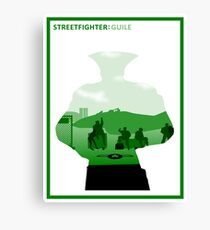 The Street Fighter: Guile Canvas Print