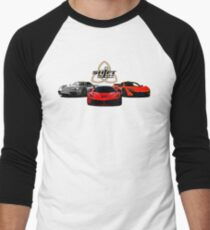 The Trinity - McLaren P1 LaFerrari Porsche 918 Inspired  Men's Baseball ¾ T-Shirt