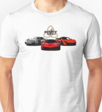 The Trinity - McLaren P1 LaFerrari Porsche 918 Inspired  Unisex T-Shirt
