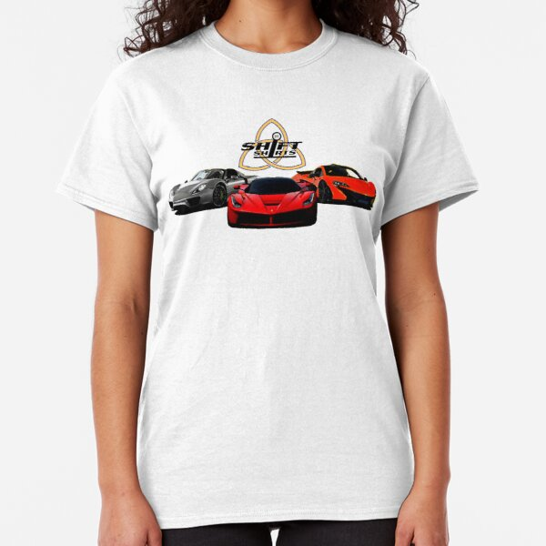 The Trinity - McLaren P1 LaFerrari Porsche 918 Inspired  Classic T-Shirt