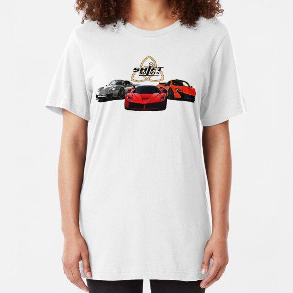The Trinity - McLaren P1 LaFerrari Porsche 918 Inspired  Slim Fit T-Shirt