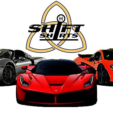 The Trinity - McLaren P1 LaFerrari Porsche 918 Inspired  by ShiftShirts