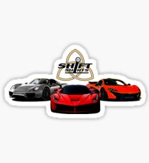 The Trinity - McLaren P1 LaFerrari Porsche 918 Inspired  Sticker
