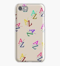 A to Z  iPhone Case/Skin