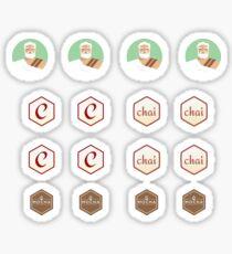 Chaijs Stickers | Redbubble