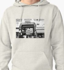 Brixton Village Entrance - Black and White Pullover Hoodie