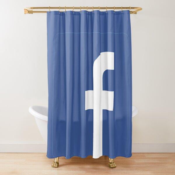 Facebook Shower Curtain