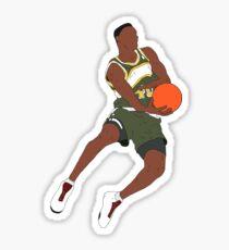 Shawn Kemp Dunk Sticker