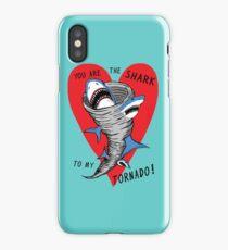 Shark To My Tornado iPhone Case/Skin