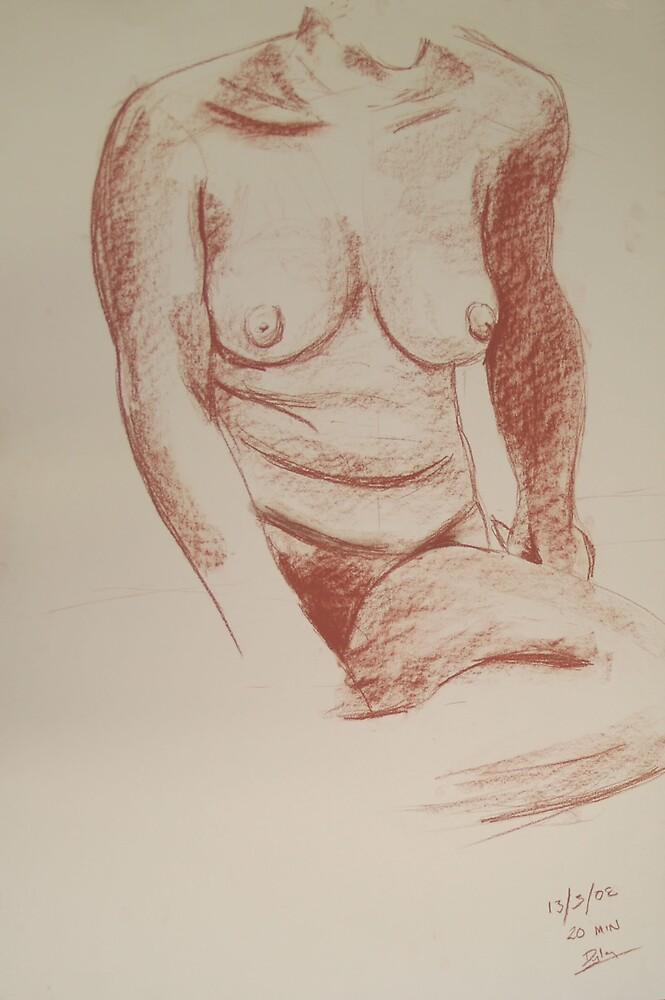 Life Drawing by Dyln