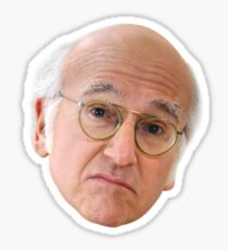 Larry David - 1 Sticker