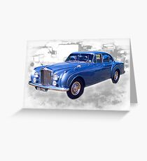 1956 Bentley Continental Greeting Card
