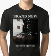 Brand New - Science Fiction Tri-blend T-Shirt